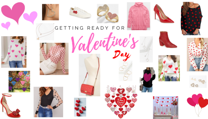 Getting Ready for Valentine's Day